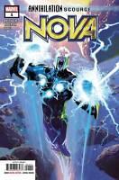 Annihilation Scourge Nova #1 Marvel Comics 2019 1st Print NM