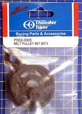 Thunder Tiger PD02-0005 Corona Puleggia Posteriore Belt Pulley Set modellismo