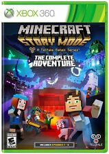 Minecraft: Story Mode -The Complete Adventure (Microsoft Xbox 360) - FREE SHIP™