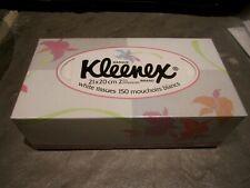 VINTAGE 1991 UNOPENED KLEENEX FACIAL TISSUE BOX 150 CT.  KIMBERLY CLARK