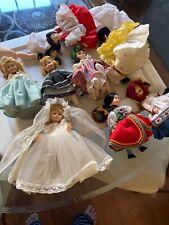 8 Vintage Madame Alexander Dolls Tlc Lot