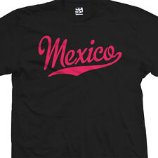 Mexico Script Tail T-Shirt - Mexican Vivo Hecho en Souvenir - All Sizes & Colors