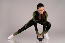 MERRIBEL 676 Luxury Super Soft Gym Top, Padded Sports Bra and Matching Leggings