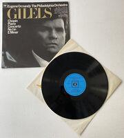 Eugene Ormandy GILELS CHOPIN PIANO CONCERTO No1 CBS SBRG 72338 Vinyl Album LP