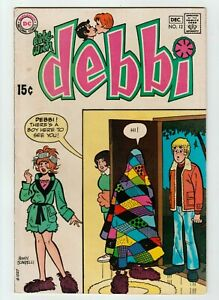 Date with Debbie #12  DC Comic Book, Teen Romance, 1970