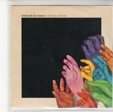 (DL831) Here We Go Magic, How Do I Know - 2012 DJ CD