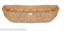 """36"""" (90cm) Natural Co-Co Liner for Window Box or Wall Trough"""