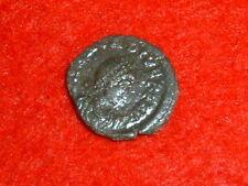 ARCADIUS (A.D. 383-408) BRONZE REDUCED FOLLIS AUTHENTIC  ROMAN COIN