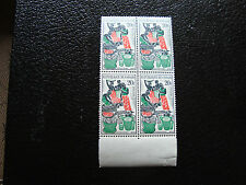 CONGO brazzaville - timbre yvert et tellier n° 149 x4 n** (A9) stamp