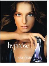 PUBLICITE ADVERTISING  2007  LANCOME   le parfum féminin  HYPNOSE         210213