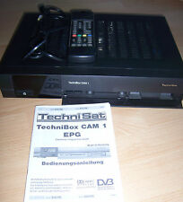 TechniSat TechniBox CAM 1 EPG m. PCMCIA, für Empfang verschlüsselte / freie