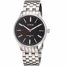 TMNG Men's TM1000NG Stainless Steel Black Dial Watch