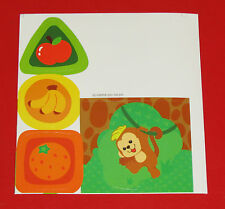 Vtech Go! Go! Smart Animals Tree House Hideaway REPLACEMENT STICKER LABEL SHEET