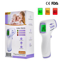 FDA Medical Infrared Non Touch Instant Forehead Temperature Thermometer Scanner