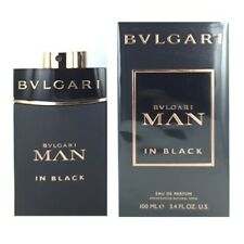 BVLGARI MAN IN BLACK by BVLGARI 3.4 OZ EAU DE PARFUM SPRAY New in Box for Men
