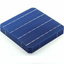 10pcs Mono Solar Panel Cells Monocrystalline Silicon Solar Cells 156 x 156mm
