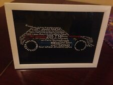 Peugeot 205t16 A4 word Art Picture