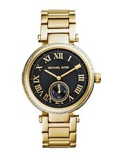 Michael Kors Watch * MK5989 Skylar Chrono Black Face Gold Steel COD PayPal