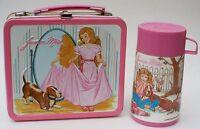 Junior Miss Kids School Metal Lunch Box Kit w/Thermos Aladdin Vintage