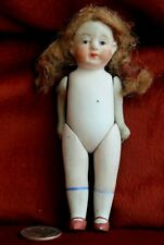 Antique Vintage 5 1/4 Bisque Jointed Doll Japan