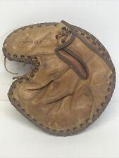 "RARE Vintage ""It's a Wilson"" Softball Catchers Mitt A9864 Glove RHT"