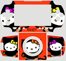 Hello Kitty CAT SKIN VINYL STICKER for PSP 1000 FAT #1