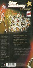 CD 2 TITRES - STAR ACADEMY : LA MUSIQUE ( JENIFER, OLIVIA RUIZ ... )