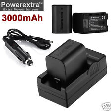 2x 3000mAh BN-VG121U battery + Charger for JVC BN-VG114U BN-VG107U GZ-HD620