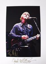 Original hand signed mounted photo of Paul Weller 11.9 x 8 inch by Mel Longhurst