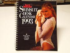 1993 Sports Illustrated Swimsuit Desk Calendar Angie Everhart Kathy Ireland