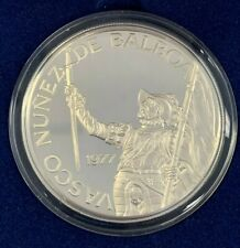 1977 Republic of Panama 20 Balboa Sterling Silver (3.8539 ASW) Proof Coin w/COA!