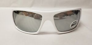 Stihl White Ice Safety glasses with Silver lens #0365