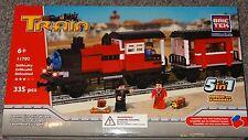 Locomotive with Wagon BricTek Building Block Construction Toy Train Brick