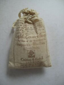 Vintage Crabtree & Evelyn Honeysuckle & Woodbine English Country Soap