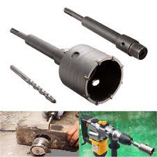 45mm Carbide Wall Hammer Drill Bit Hole Cutter Saw+ SDS, Shaft Shank