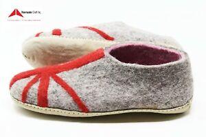 Size 41-100%Felt,Wool Women's/Men's Slipper Mules,Shoes Natureal Handmade nepal