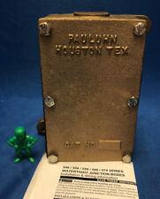 Cooper Crouse-Hinds Pauluhn ProJbx 556-B Marine Watertight Junction Box – Brass
