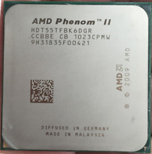 AMD Phenom II x6 1055T HDT55TFBK6DGR 2.8GHz 6-Core 6MB Socket AM3 125W Tested