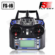 Flysky FS-I6 2.4G 6CH Transmitter & Receiver For RC Plane Helicopter Multicopter