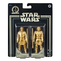 Obi-Wan Kenobi & Anakin Skywalker Star Wars Gold Commemorative Edition