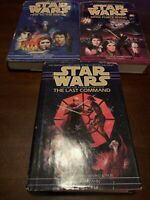 STAR WARS THE THRAWN TRILOGY by Timothy Zahn 3 hardcover BCE Heir To The Empire