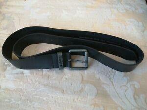 Levis Black Leather Belt Size 38