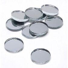 1/2 Inch Round Mirror Glass 10 Piece Pack #12761341