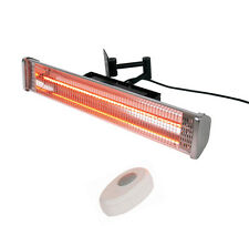 Wall Mounted Infrared Electric Heat Lamp with Remote Control