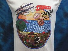 vintage 1983 MEN AT WORK CARGO TOUR MUSCLE T-Shirt XS/S rock concert thin 80s