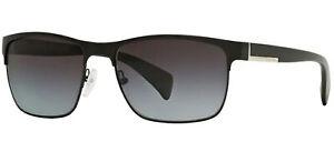 Prada SPR 51OS Matte Black/Grey Shaded 58/17/140 men Sunglasses