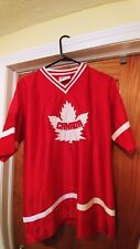 Canandian jersey, red. Medium , great condition