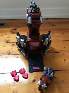 Rare 1996 Fisher Price Great Adventures Dragon Tower