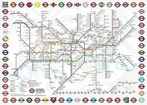 Gibsons TFL London Underground Map Jigsaw Puzzle (1000 pieces)