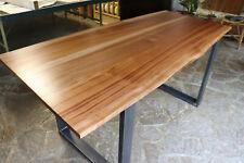Tavolo in legno massello Mogano - Solid Mahogany wood Table (100% Made in Italy)
